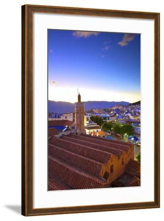 Chefchaouen, Morocco, North Africa, Africa-Neil-Framed Photographic Print