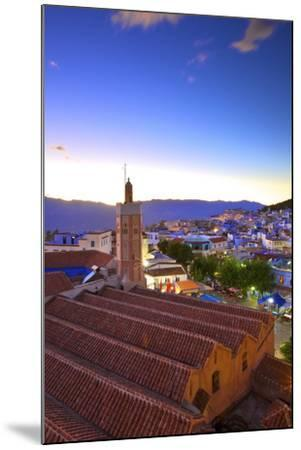 Chefchaouen, Morocco, North Africa, Africa-Neil-Mounted Photographic Print