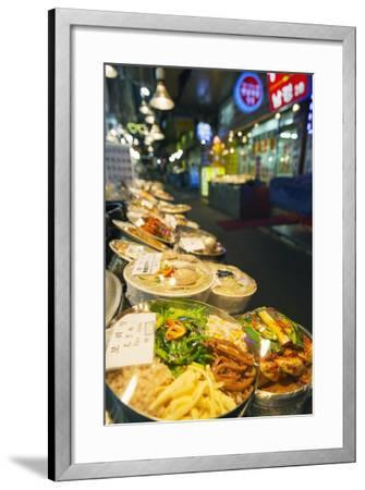 Nandaemun Food Market, Seoul, South Korea, Asia-Christian-Framed Photographic Print