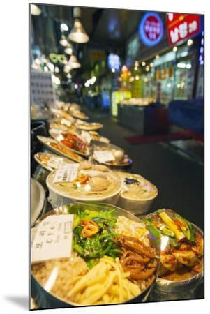 Nandaemun Food Market, Seoul, South Korea, Asia-Christian-Mounted Photographic Print