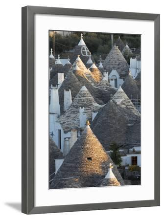 Rooftops of Traditional Trullos (Trulli) in Alberobello-Martin-Framed Photographic Print