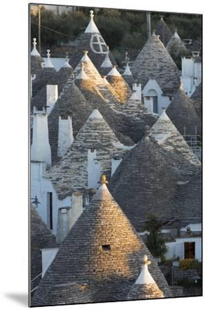 Rooftops of Traditional Trullos (Trulli) in Alberobello-Martin-Mounted Photographic Print