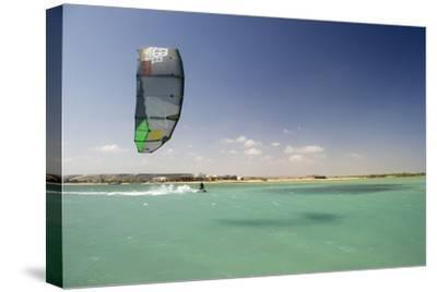 Kite Surfing on Red Sea Coast of Egypt, North Africa, Africa-Louise-Stretched Canvas Print