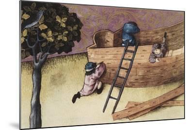 Illustration About the Teak Tree--Mounted Art Print