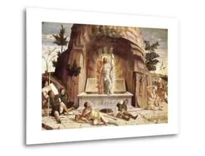 The Resurrection-Andrea Mantegna-Metal Print