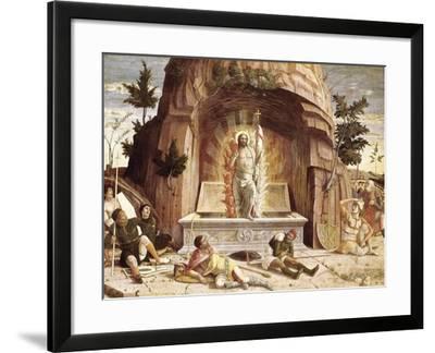 The Resurrection-Andrea Mantegna-Framed Art Print
