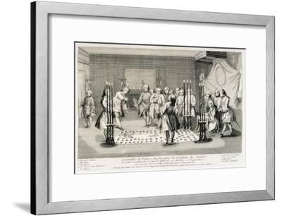 Freemasonry Assembly to Receive the Masters--Framed Art Print
