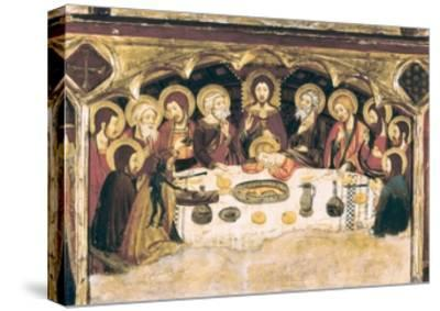Last Supper-Jaume and Pere Serra-Stretched Canvas Print