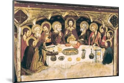Last Supper-Jaume and Pere Serra-Mounted Art Print