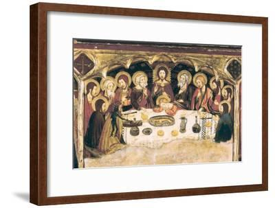 Last Supper-Jaume and Pere Serra-Framed Art Print
