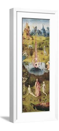 Garden of Earthly Delights-Hieronymus Bosch-Framed Art Print