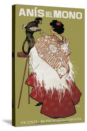 Anis Del Mono-Ramon Casas i Carbo-Stretched Canvas Print