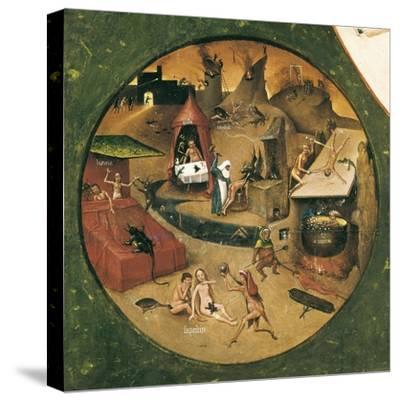 Garden of Earthly Delights-Hieronymus Van Aeken Bosch-Stretched Canvas Print