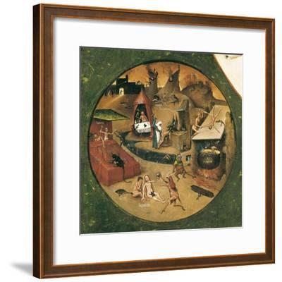 Garden of Earthly Delights-Hieronymus Van Aeken Bosch-Framed Art Print