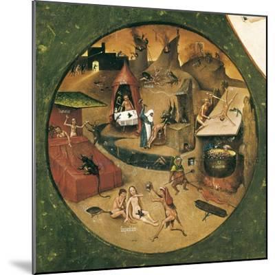 Garden of Earthly Delights-Hieronymus Van Aeken Bosch-Mounted Art Print