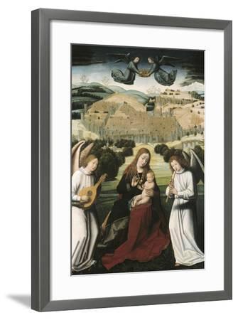 The Virgin of Granada-Petrus Christus-Framed Art Print