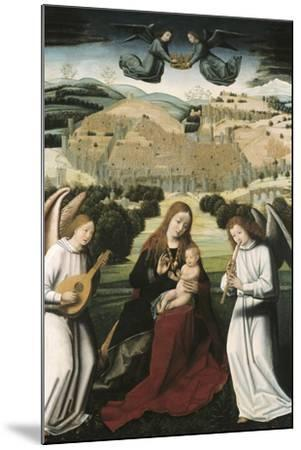 The Virgin of Granada-Petrus Christus-Mounted Art Print