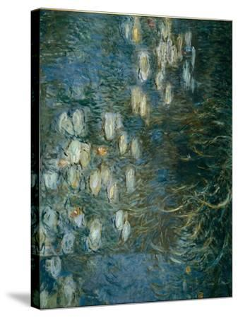 Waterlilies-Claude Monet-Stretched Canvas Print
