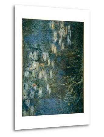 Waterlilies-Claude Monet-Metal Print