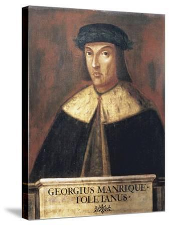 Jorge Manrique (1440-1479) Spanish Poet--Stretched Canvas Print