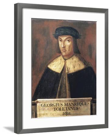 Jorge Manrique (1440-1479) Spanish Poet--Framed Art Print