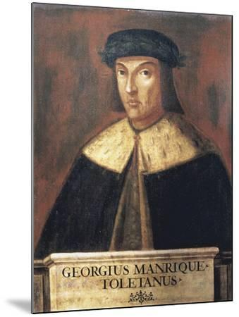 Jorge Manrique (1440-1479) Spanish Poet--Mounted Art Print