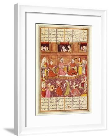 Zal Meets Mihrab of Kabul--Framed Art Print