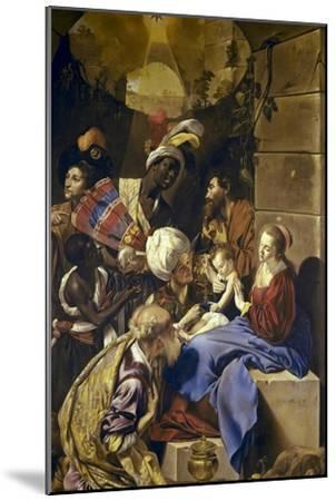 Adoration of the Magi-Juan Bautista Maino-Mounted Art Print