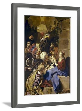 Adoration of the Magi-Juan Bautista Maino-Framed Art Print