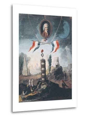 Allegory of the Revolution-Nicolas Henri Jeaurat de Bertry-Metal Print