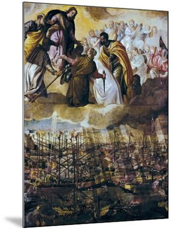 Allegory of the Battle of Lepanto-Paolo Veronese-Mounted Art Print