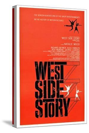 West Side Story--Stretched Canvas Print