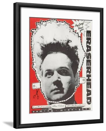 Eraserhead--Framed Art Print