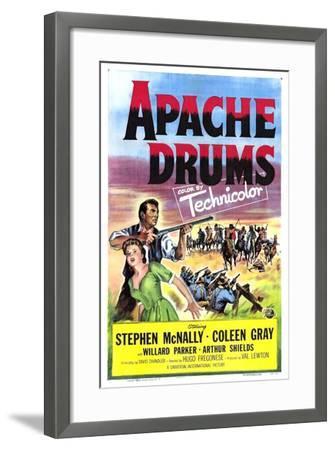 Apache Drums--Framed Art Print