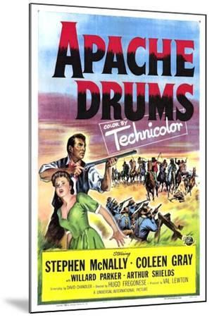Apache Drums--Mounted Art Print