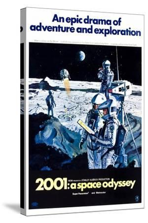 2001: A Space Odyssey (aka Two Thousand and One: a Space Odyssey)--Stretched Canvas Print
