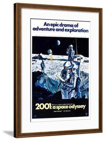 2001: A Space Odyssey (aka Two Thousand and One: a Space Odyssey)--Framed Art Print