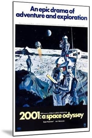 2001: A Space Odyssey (aka Two Thousand and One: a Space Odyssey)--Mounted Art Print