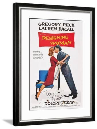 Designing Woman--Framed Art Print