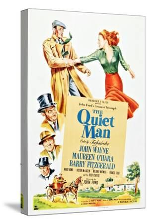 The Quiet Man--Stretched Canvas Print