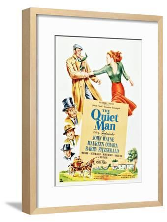 The Quiet Man--Framed Premium Giclee Print