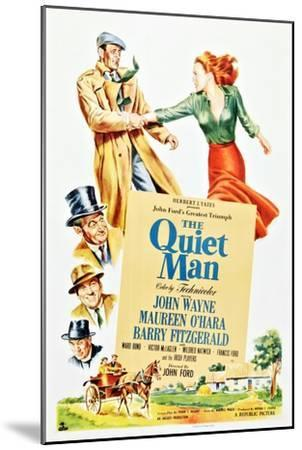The Quiet Man--Mounted Premium Giclee Print