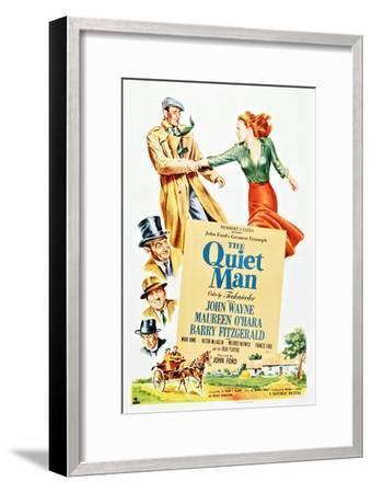 The Quiet Man--Framed Art Print