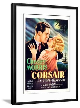 Corsair--Framed Art Print