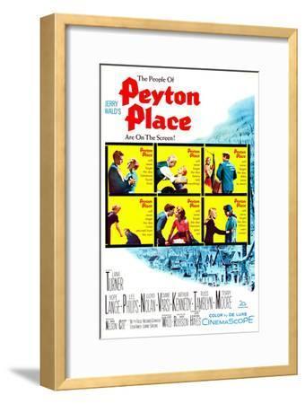 Peyton Place--Framed Art Print