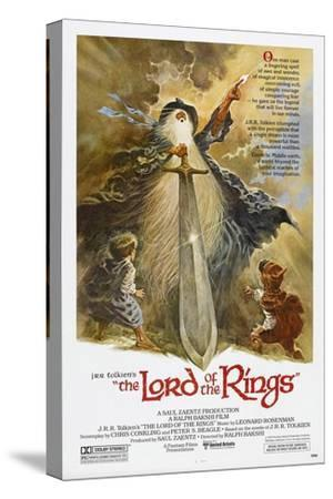 The Lord of the Rings--Stretched Canvas Print