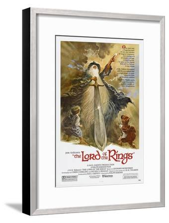 The Lord of the Rings--Framed Art Print