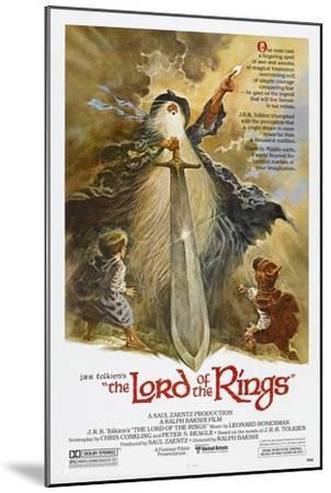 The Lord of the Rings--Mounted Art Print