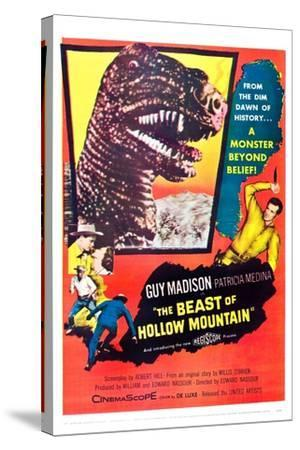 The Beast of Hollow Mountain--Stretched Canvas Print