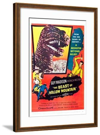 The Beast of Hollow Mountain--Framed Art Print